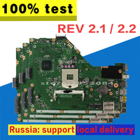 X55A Motherboard REV.2.1 HM70 For ASUS X55A Laptop motherboard X55A Mainboard X55A Motherboard test 100% OK