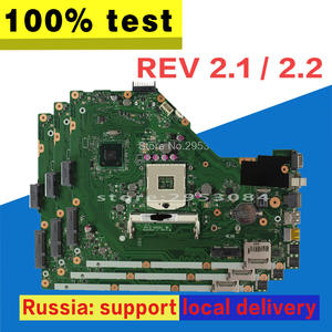 X55A Laptop motherboard For ASUS X55A test OK REV.2.1/2.2 HM70 X55A Mainboard X55A