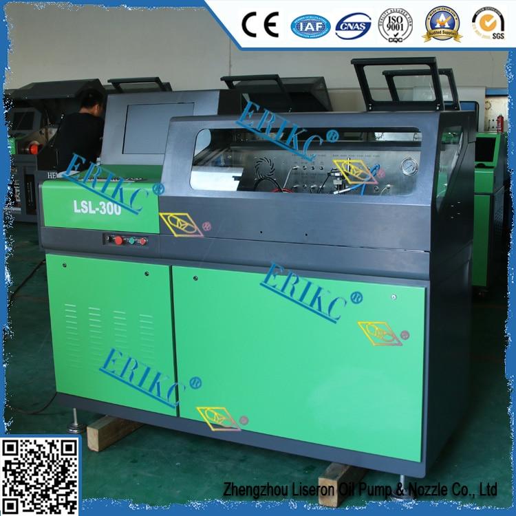 ERIKC diesel fuel injection pump test bench LSL-300, common rail diesel injector test bench E1024019