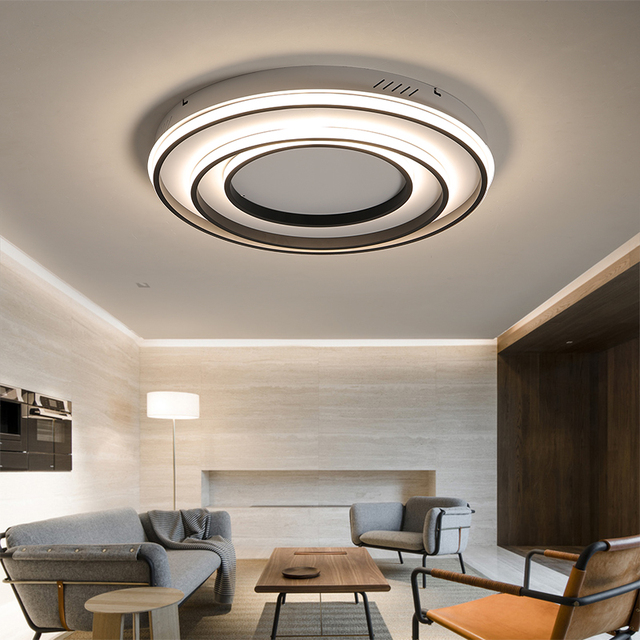Rabatt Wooights Moderne Decke Lichter Fur Wohnzimmer