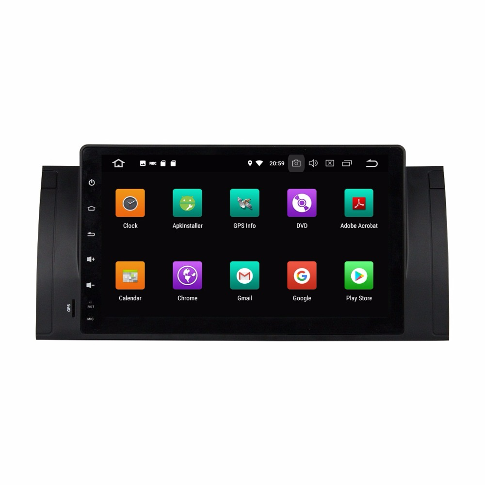 4GB RAM Octa Core 1 din 9 Android 8 0 Car dvd video Player for BMW M5 E39  X5 E53 With GPS Radio Bluetooth WIFI USB Mirror link