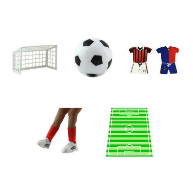 10pcs Set Plastic Finger Football Toy Desktop Interactive Soccer