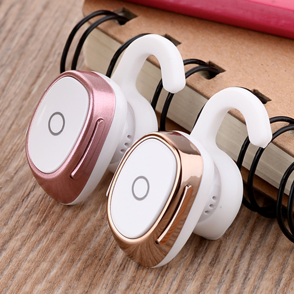 JRGK Bluetooth Earphone Mini9 Headsets Stereo Invisible Headphones Wireless Handfree Smallest Earbuds with Mic For iPhone Xiaomi