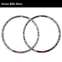 SUPERTEAM 26er/27,5 er/29er карбоновый обод для горного велосипеда бескамерный 29 горный велосипед велосипедное углеродное волокно обода циклоросс дис
