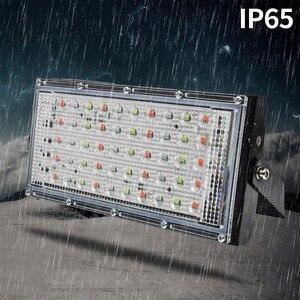 Image 4 - Led Flutlicht 50W Spotlight Park Beleuchtung Outdoor Led straßenleuchte AC 220V 240V Wasserdichte IP65