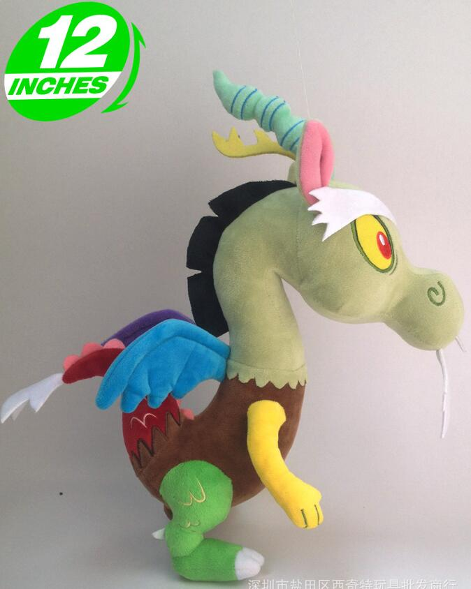 1pcs 30cm Hot sale lovely rainbow horse Discord plush toy stuffed doll for birthday gift or collection футболка destructo discord black