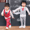 2017 Spring Baby Clothes Formal Suits for Wedding Newborn baby Birthday Cloth Outerwear Boys Clothing Coat High Quality Sets