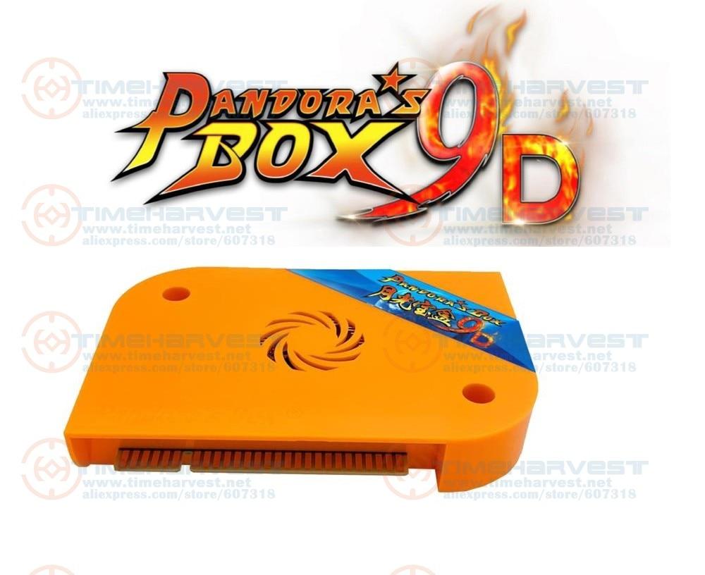 Free shipping 2019 Pandora Box 9D Arcade version JAMMA Multi Games Board 2222 in 1 support