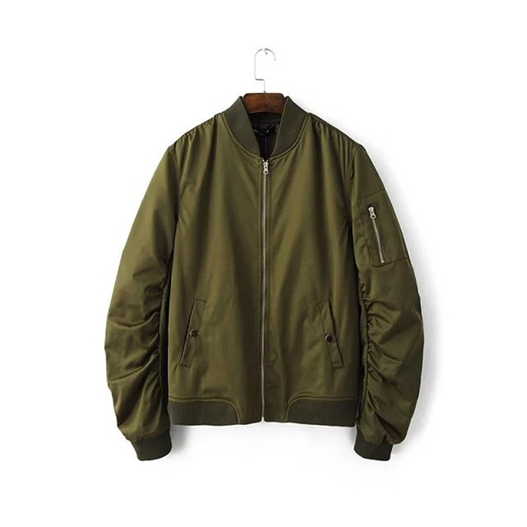 2016 Jacket Ma1 Thin Style Army Green Military Motorcycle