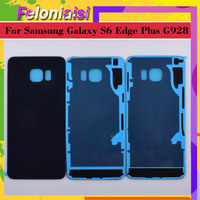 battery samsung galaxy 10Pcs/lot For Samsung Galaxy S6 Edge Plus G928 G928F Housing Battery Door Rear Back Glass Cover Case Chassis Shell Replacement (3)