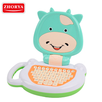 Zhorya Kids Laptop Pre School Educational Learning Machine Computer Game English Learning Machine Educational Toy for Children