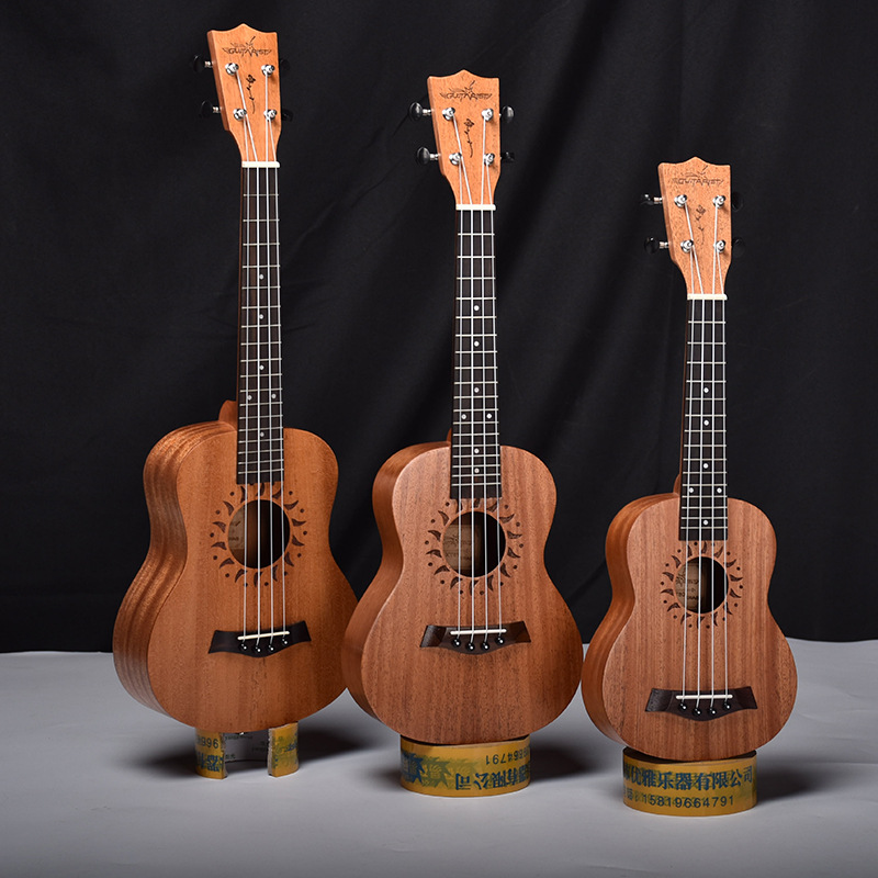 Soprano Concert Tenor Ukulele 21 23 26 Inch Mini Hawaiian Guitar Mahogany 4 Strings Ukelele Handcraft Wood Guitarra Uke Mahogany concert acacia wood ukulele 23 inch mini hawaiian guitar 4 strings guitarra ukelele high grade lumber uke handcraft wood
