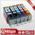 5PK (BK/PBK/C/M/Y) PGI-550 CLI-551 Edible ink cartridge for Canon printer PIXMA MG5450/MG6350/IP7250/MX925