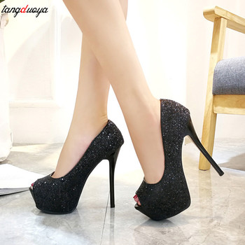 123124952 Женская обувь на каблуках; туфли-лодочки на платформе; женская ...