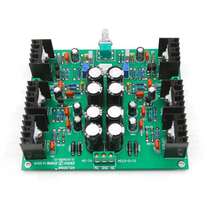 Image 3 - NEW JLH HOOD1969 Class A Audio Board AC 12V Preamplifier Amp DIY Kit / Finished Preamp Board