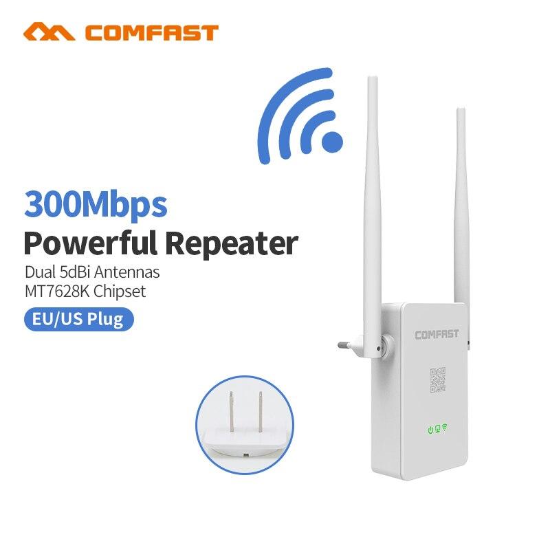 Comfast Routeur Sans Fil 300 mbps universa wifi range extender Longue distance 10dBi wi fi Antenne 802.11b/g/n point d'accès répéteur