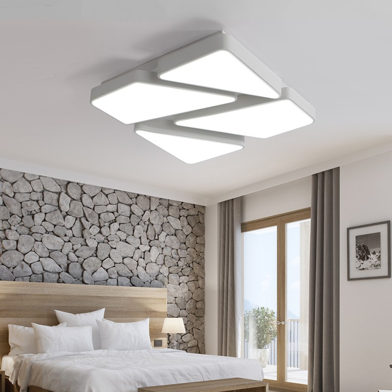 Restaurant Living Room Bedroom Modern Minimalist Works Of Art And Creative Led The Stars Ceiling Light 19 Heads Ac85-265v White Beautiful And Charming Lights & Lighting Ceiling Lights