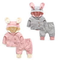 Baby set spring and autumn clothes coat+pants baby clothes