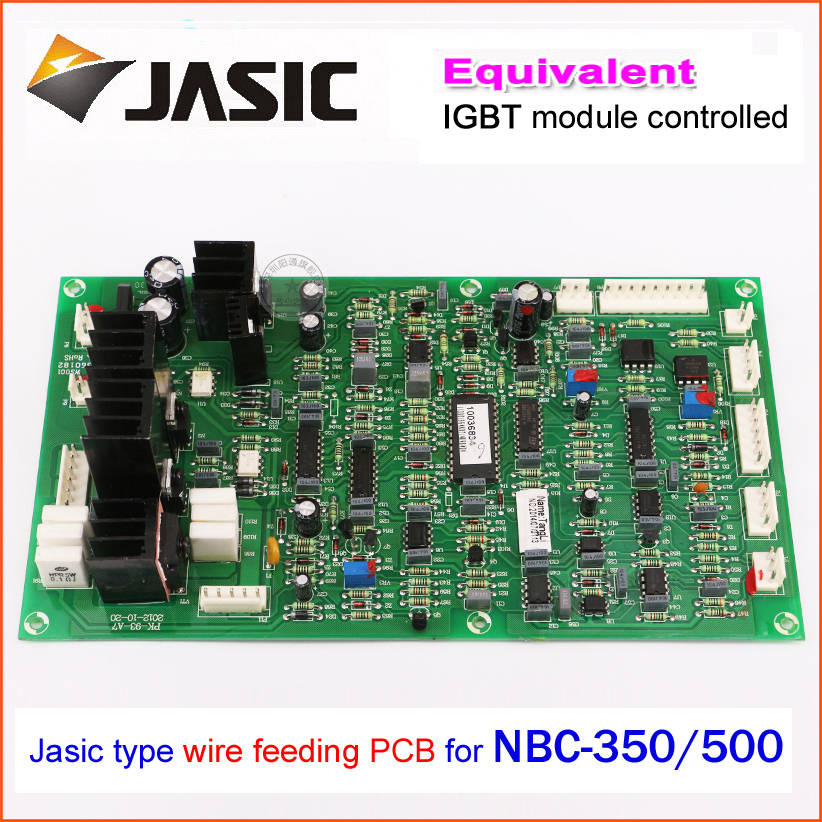 wire feeder control panel board NBC350 500 IGBT module control gas welding motherboard repair replacement