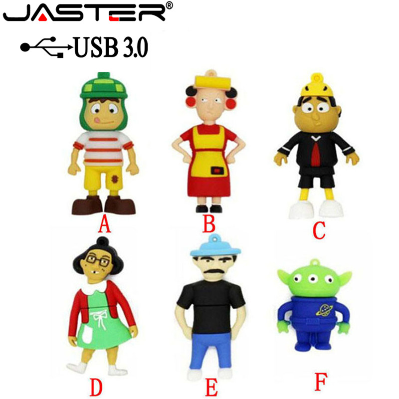 JASTER 3.0 Cartoon Toy Genuine USB 3.0 Memory Stick USB Flash Drive Pendrive  8GB 16GB 32GB Pen Drive Solid Boy Free Shipping
