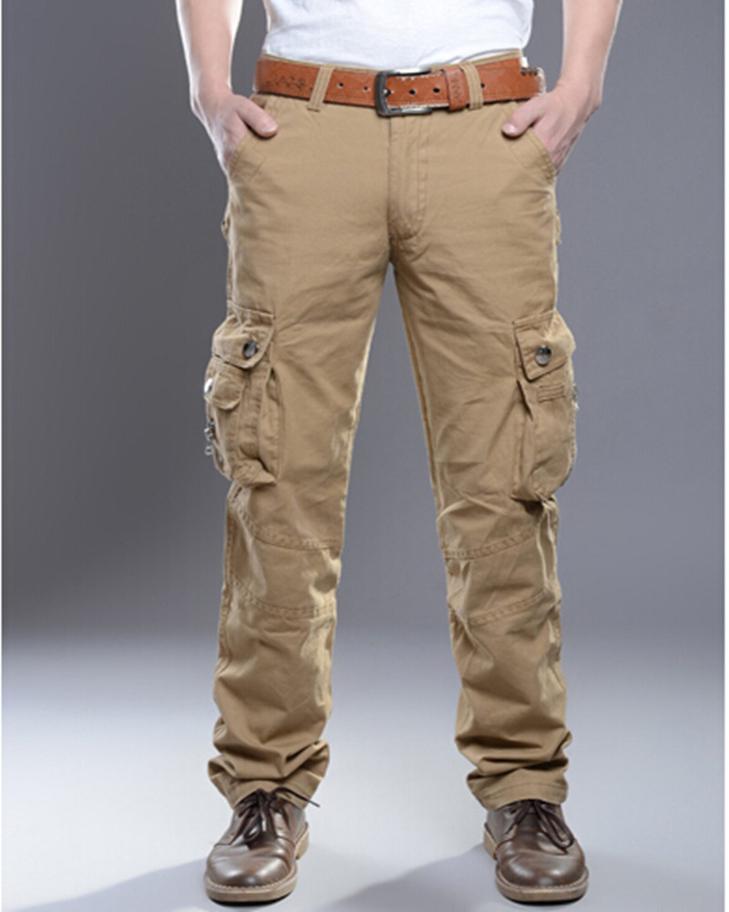 cargo long pants mens - Pi Pants