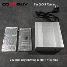 LCD heating polarizer film removing mold with mini vacuum pump Vacuum degumming mold + machine New polarizer film remove mold цена и фото