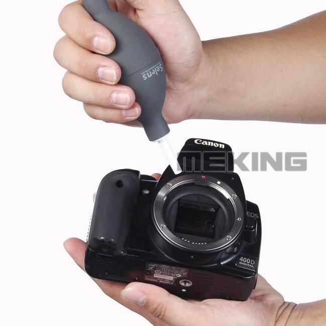 Σετ καθαρισμού φακών φωτογραφικής μηχανής Σετ φουσκώματος αέρα για τον καθαρισμό σκόνης Canon Nikon