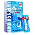 10 pcs qualidade da marca hortelã fresco dedo preservativo pequeno e Íntimo feminino sex toy produtos condooms condon lubrificação excitação para as mulheres