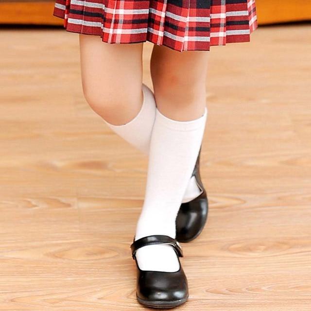 Knee High Socks Kids Boys Girls Long Tube Socks For School -8663