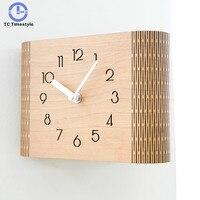 Minimalist Modern Home Personality Desktop Clock Double sided Wall Living Room Bedroom Pendulum Nordic American Decoration