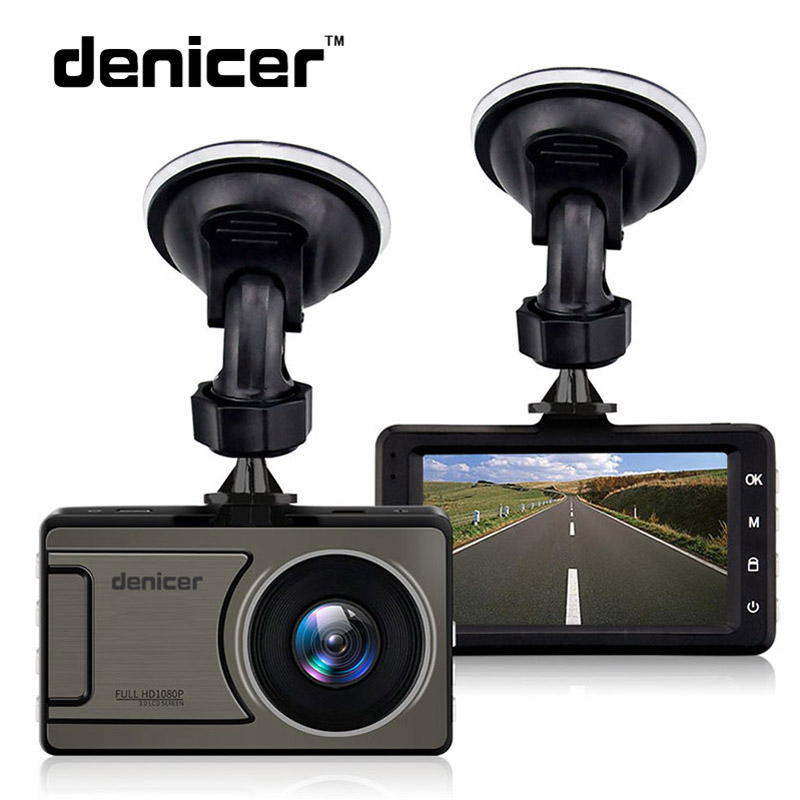 Denicer Car Dash Camera Vehicle Full HD 1080P DVR Cameras 170 degree wide Angle Night Vision Car Video Recorder Dashboard Camera dvr camera 1080p full hd 170 degree angle new 3 0 car dvr camera t626 car camera for driving recording car detector
