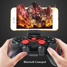 [Genuine] T3 Bluetooth Wireless Gamepad S600 STB S3VR Game Controller Joystick F