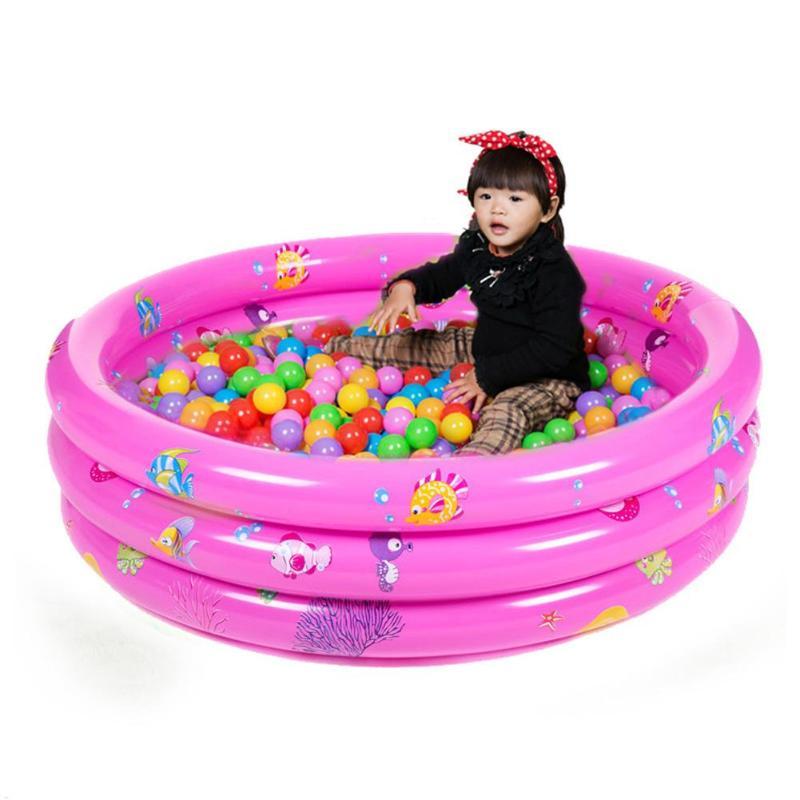 Трехъядерный надувной детский бассейн Портативный открытый дети бассейна летние водонепроницаемые Play игрушки ванны