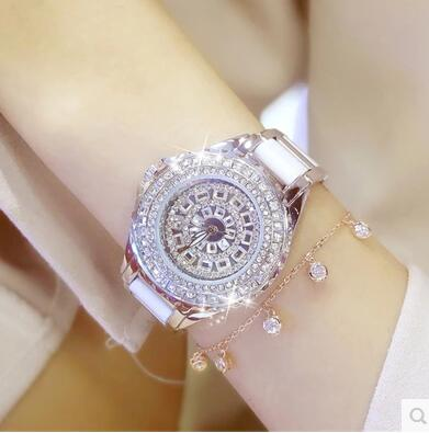 010759Luster Women Watches Quartz Geneva Rhinestone Luxury Roman Lady Relogio Times Simple Superior Quality Casual s