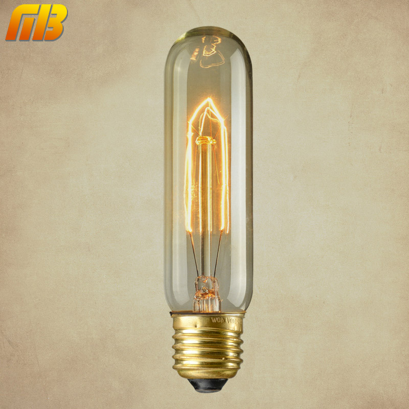 [MingBen] Vintage Edison Bulbs T10 E27 220V Incandescent Bulbs 40W Filament Bulb Retro Edison Light For Pendant Lamp Decoration