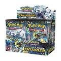 Карта Pokemon Sun & Moon Lost Thunder  36 упаковок в коробке  TCG  английская версия  Pikamon  Pokemon  подарок для детей