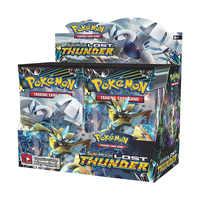 36 Packs Per Scatola Pokemon TCG Edizione Inglese Carta di Pikamon Pokemon Sun & Moon Perso Thunder Integratore Pacchetto Giocattolo Per Bambini regalo