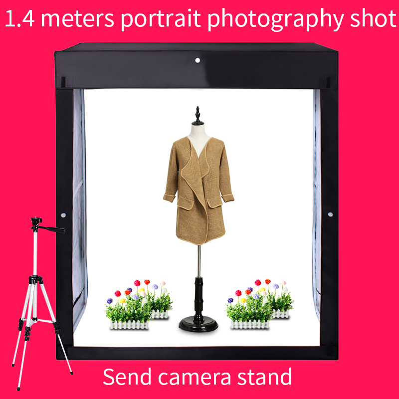 Ship From Russia 120*50*140CM Photo Studio Softbox Photography Lightbox Light box Shooting Light Tent With Free Gift