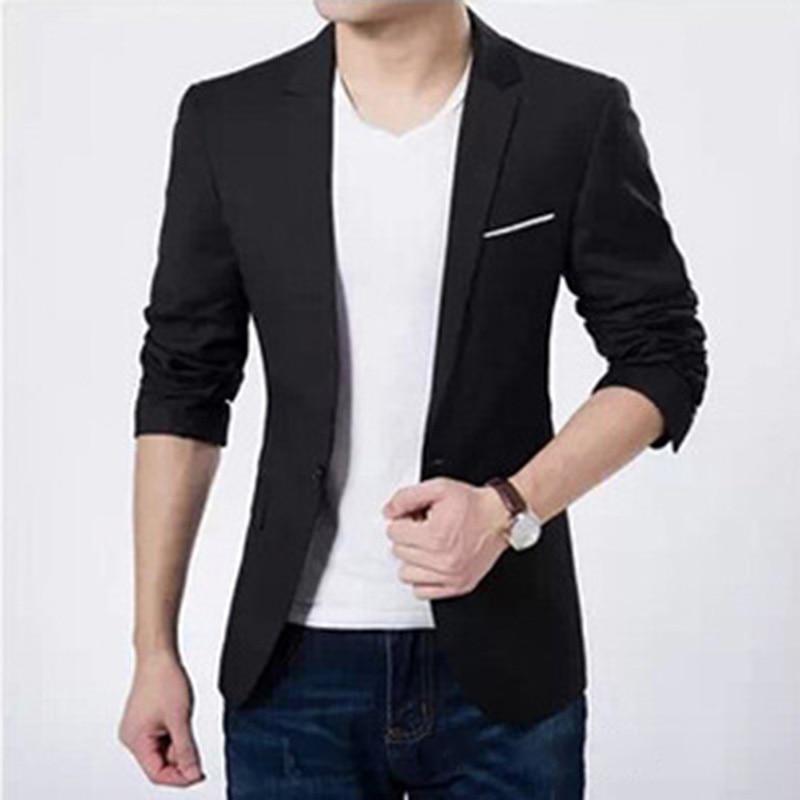 2019 Men Suits Jacket Casaco Terno Masculino Suit Cardigan Jaqueta Wedding Suits Jacket CN Size S-6XL 4 Colors HW186 KJ2