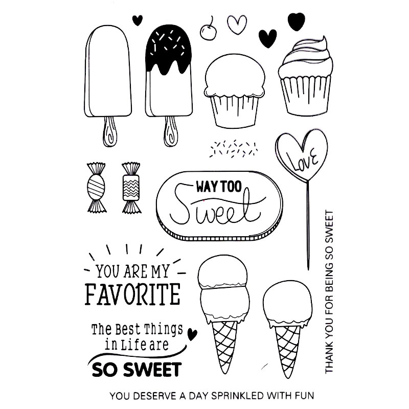 THE BEST THINGS IN LIFE SWEET Scrapbook DIY photo cards account rubber stamp clear stamp transparent stamp Handmade card stamp scrapbook diy photo cards account rubber stamp clear stamp transparent stamp ancient lady hanger mirror paris 14x18cm sd136