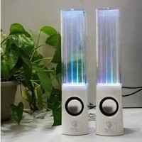 Dancing Water Speaker Portable Mini USB LED Light Bluetooth Speaker For Iphone Ipad PC MP3 MP4