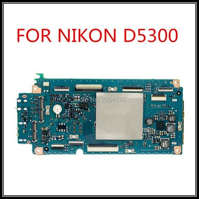 Оригинальный аксессуары к Цифровым Фотокамерам D5300 основная плата для nikon D5300 D5300 материнских плат системной платы запчасти бесплатная доставка