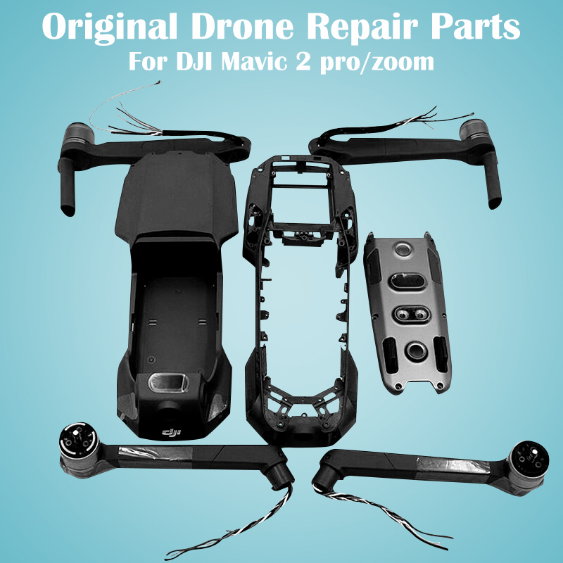 original-font-b-dji-b-font-mavic-2-pro-zoom-repair-parts-right-left-rear-arm-top-bottom-housing-shell-middle-frame-replacement-part-font-b-drone-b-font