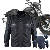 Men's Oxford Windproof Motorcycle Racing Jacket Professional Mesh Breathable Summer Motorcycle Race Automobile Motorcycle Jacket