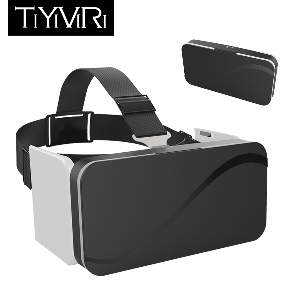VR Headset Glasses Virtual Reality Box Portable Google Cardboard 3D VR Virtual Glasses Smartphone Vrbox2 Virtual Reality Goggles