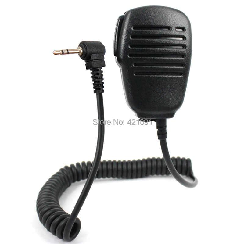1 Pin 2.5mm Handheld Speaker Microfoon Microfoon voor Motorola Talkabout MD200 TLKR T5 T6 T80 T60 FR50 T6200 T6220 walkie Talkie Radio