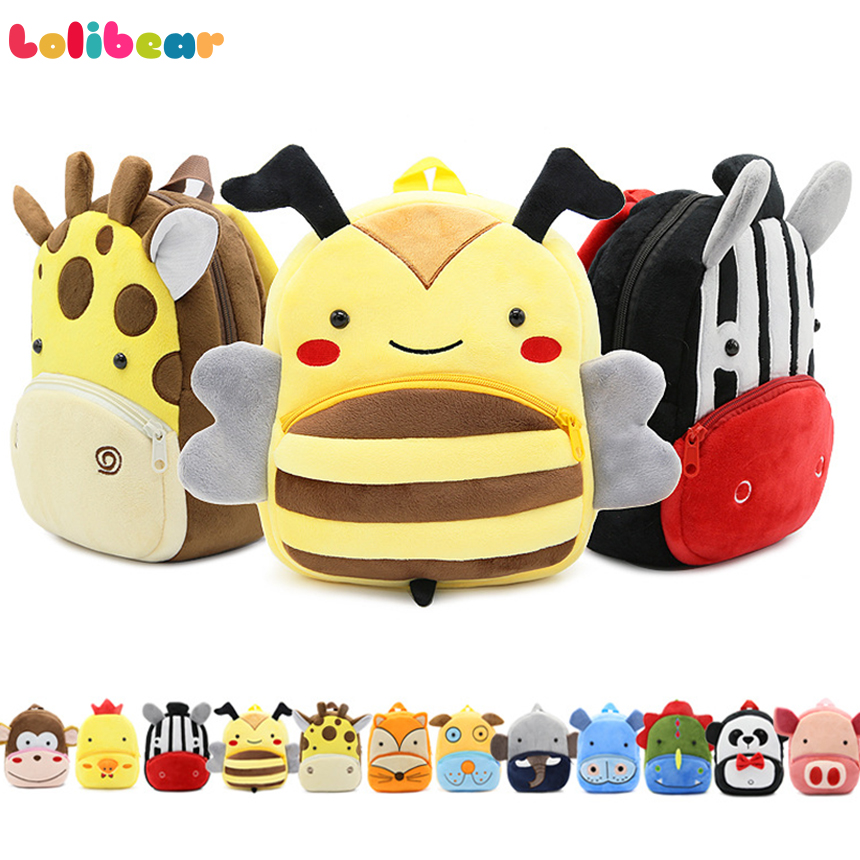 Baby Plush Toy Messenger Bag Child Girl Cartoon Fruit Animal Crossbody Baby Jewelry Bag Clothing Accessories Moderate Cost Plush Backpacks