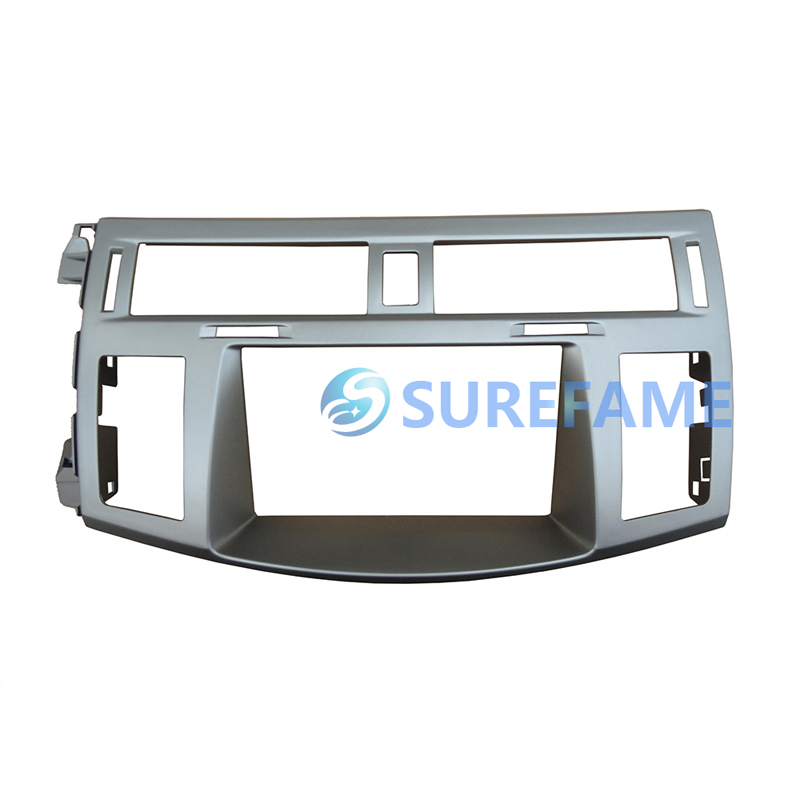 Double Din Car Radio Fascia for Toyota Avalon 2005 2009 Dash Kit DVD Stereo CD Panel