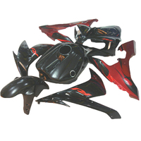 Motorcycle fairing fit for YZF1000 2005 2004 2006 Red flames YAMAHA R1 04 05 06 YZF R1 fairings ABS xl31