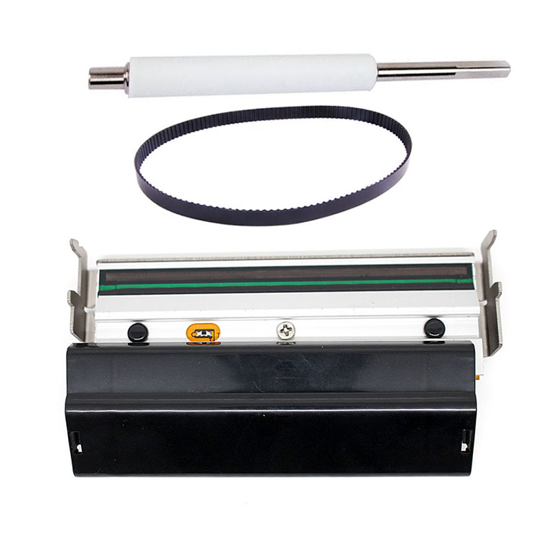 New Compatible Z4M Printer Belt Rubber Roller Barcode Printhead For Zebra Z4M 203dpi Barcode Printer